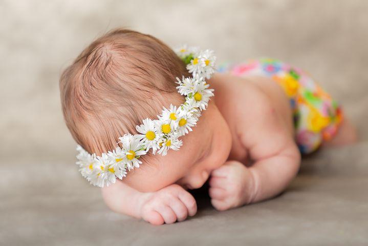 neonati e floriterapia